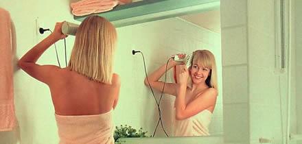 Система подогрева зеркал